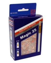 Magic 25 Disposable Cigarette Filters Value Pack (100 Filters)