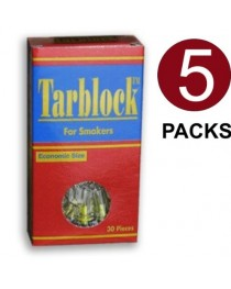 Tarblock Cigarette Filters 5 packs (150 filter tips)