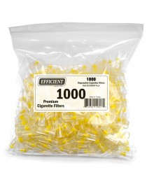 Efficient Disposable Cigarette Filters - Bulk Economy Pack (1000 Per Pack)