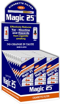 Magic 25 Disposable Cigarette Filters 30 Packs