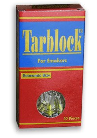 TarBlock Disposable Cigarette Filters - 1 pack